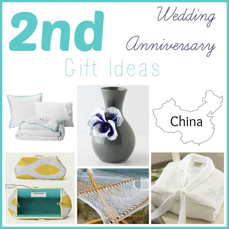 Second Wedding Anniversary Gift Ideas Domesticability